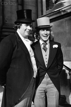 James Hunt and his Best Man