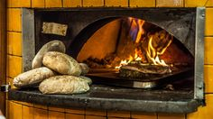 The restaurant features a wood-fired oven. Photo: Karleen Minney.