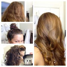 Shiny hair treatmemt: mix together 2 eggs (for hair above shoulder length only use one), 1tbsp honey, and a lot of olive oil. Leave in for at least an hour, then rinse out in shower with shampoo (for thick hair that doesn't get oily, condition ends after). Style and watch it shine!