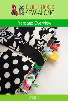 Quiet Book Sew-Along: Yardage Overview {week 1}