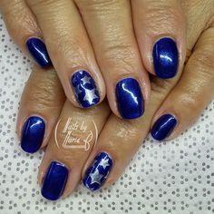 Some simple stars for Memorial Day.  Gel polish with @uberchicbeauty stamping.  #nails #nailedit #nailstoinspire #nailsdone #nailart #nailsalon #nailsbymarieb #nailforyummies #naildesign #nailsoftheweek #nailpolish #nailstyle #nail shop #NailsNailsNails #Nailsaddict #gelpolish #nailprodigy #shortnails #scra2ch #clearjellystamper by nailsbymarieb