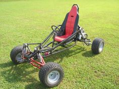 Go Kart Plans and Blueprints for SpiderCarts' Arachnid Full Suspension Go Kart