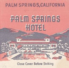 Palm Springs Hotels, Palm Springs Style, Retro Illustration, Graphic Design Illustration, Vector Illustrations, Retro Design, Vintage Designs, Design Design, Graphic Design Posters