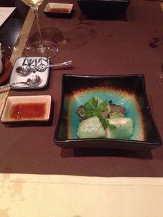 Kani no harumaki - Rollo al vapor de cangrejo real en papel de arroz