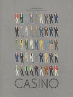 every suit De Niro wore in casino