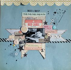 #papercraft #scrapbook #layout maska