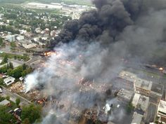 Major fire after train carrying oil derails in Quebec town near Canada-US border - World News