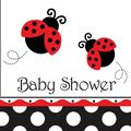 Ladybug Fancy Baby Shower Great Party Supply online resource - great prices - partypail.com