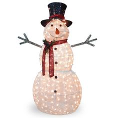 Found it at Wayfair - Crystal Snowman Christmas Decoration