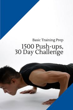 1500 push-ups, 30 day challenge - Basic Training Prep - Basic to Blues Month Workout, Workout Schedule, Push Up Challenge, Workout Challenge, Air Force Recruiter, Air Force Basic Training, 30 Day Arms, Military Workout, Why I Run