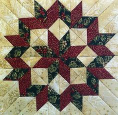 Here's a beautiful block Pam made with the Rapid Fire Lemoyne Star tool.