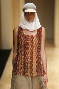 #MiriamPonsa #SS/15 #Catwalk #trends  #pleat  #080BarcelonaFashion #Barcelona
