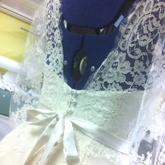 New to the collection...#french lace #bride #weddings #couture