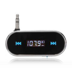 Wireless 3.5mm Handsfree LCD Display Fm Transmitter For iPhone iPod  Worldwide delivery. Original best quality product for 70% of it's real price. Hurry up, buying it is extra profitable, because we have good production sources. 1 day products dispatch from warehouse. Fast & reliable...