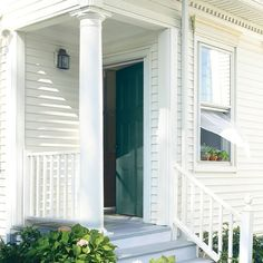 1000 Ideas About Green Exterior Paints On Pinterest