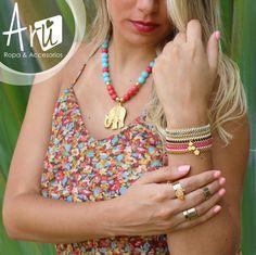 Blusa y accesorios ARU, para que siempre  estés a la moda