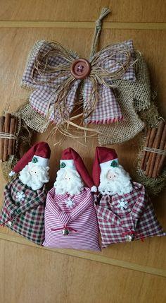 Christmas Sewing, Christmas Nativity, Rustic Christmas, Simple Christmas, All Things Christmas, Handmade Christmas, Christmas Tree Ornaments, Christmas Candy, Santa Crafts