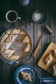 Greek style pumpkin pie
