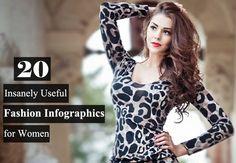 women fashion infographics