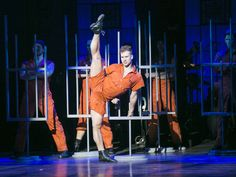 Watch: A Sexy All-Male Take On 'Cell Block Tango'