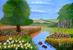 A Spring Stream