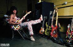 Eddie Van Halen 1982