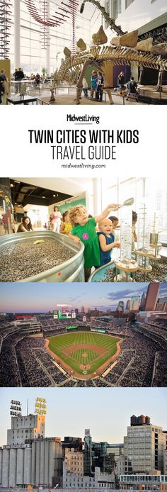 The Twin Cities embrace the outdoors with family-friendly attractions such as Valleyfair amusement park, Twins baseball and the Minnesota Zoo, but there's plenty inside to keep kids busy when the weather's too hot or wet.