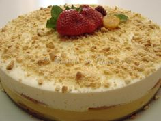 Appetizer Recipes, Appetizers, Portuguese Recipes, Food Inspiration, Cheesecake, Food And Drink, Pudding, Sweets, Fruit