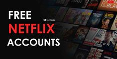 Free Premium Netflix Accounts May Netflix premium accounts generator and Access to free subscription legally. These free netflix login id and passwords are working with giveaway process. Enjoy Netflix Shows with minutely updated accounts. Netflix Free Month, Get Netflix, Netflix Free Trial, Netflix Hacks, Watch Netflix, Movie Hacks, Netflix Promo Code, Free Netflix Codes, Netflix Gift Card Codes