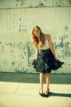 skirt please...