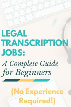 Legal Transcription Jobs: A Complete Guide for Beginners! Learn how to work from… Legal Transcription Jobs: A Complete Guide for Beginners! Learn how to work from home as a legal typist even if you have absolutely no experience. Earn Money From Home, Earn Money Online, Online Jobs, Way To Make Money, Online Income, Transcription Jobs From Home, Transcription Jobs For Beginners, Transcription Training, Medical Transcription