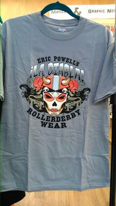 We all love us some roller derby, and this stylish shirt is perfect for wearing as you cheer on your favourite team.
