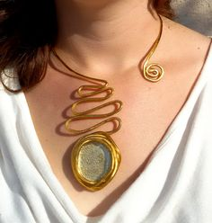 Hey, I found this really awesome Etsy listing at https://www.etsy.com/listing/219098287/costume-gold-necklace-statement-necklace