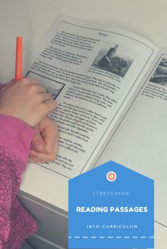 Learn how to use a reading passage to build a week of reading, writing, and social studies or science curriculum.