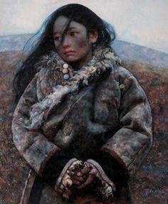 Ai Xuan(Chinese artist)「A Girl From Tibet」