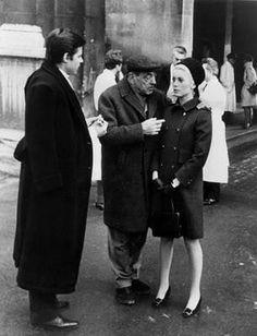 Luis Buñuel with Catherine Deneuve - Belle de Jour.