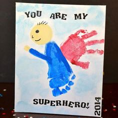 Some of these ideas for Father's Day presents from the little ones are so cute!