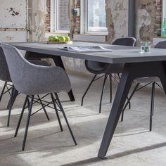 Busc eetkamerstoelen antraciet of grijs | Home Stock