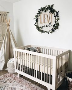 Looking for the perfect nursery decor ideas for your little one? There are so many seriously sweet nursery decor from Etsy! Baby Room Design, Nursery Design, Nursery Wall Decor, Baby Room Decor, Nursery Room, Girl Nursery, Nursery Ideas, Boho Nursery, Small Baby Nursery