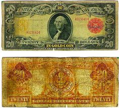 Gold Certificate, 1905