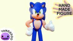 폴리머클레이로 소닉 만들기 [양쑤] Sonic Polymer Clay Tutorial
