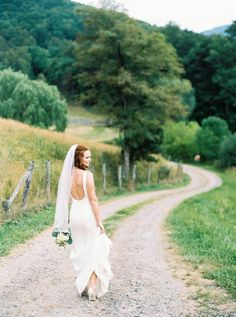 wedding-dresses backless Wedding Inspiration - Style Me Pretty