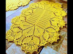 Crochet Rug Patterns, Crochet Art, Crochet Doilies, Basic Hand Embroidery Stitches, Crochet Crocodile Stitch, Crochet Table Runner, Table Runners, Blanket, Knitting