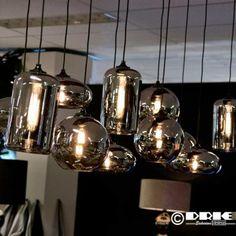 Hanglamp Splended Bowls - Driehoek meubelen Dining Room Lighting, Home Lighting, Pendant Lighting, Kitchen Lighting, Teal Kitchen Decor, Grey Kitchen Designs, Farmhouse Lamps, Industrial Style Kitchen, Latest House Designs