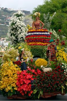 Flower Fest (every Spring in Funchal) - Madeira Island, Portugal