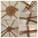 Weaving newspaper tubes: Circle, Bottom, Nam … - All For Remodeling İdeas Paper Basket Weaving, Willow Weaving, Newspaper Basket, Newspaper Crafts, Rope Crafts, Diy Home Crafts, Rope Basket, Weaving Projects, Diy Art