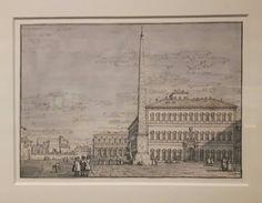 Piazza San Giovanni in Laterano Roma 1743 Royal Collection