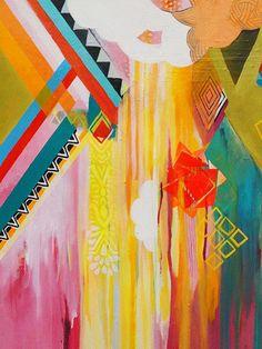 Kolo by Misha Maynerick Blaise Painting Print on Wrapped Canvas