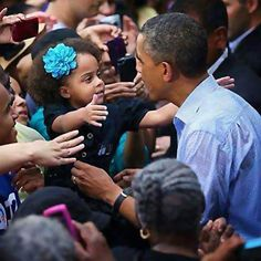 Oh, dear, more adorable pictures of former President Obama with children.