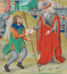 Quintus Curtius Rufus, Faits et gestes d'Alexandre Brügge · ca. 1475-1500 Ms. fr. 76  Folio 114v